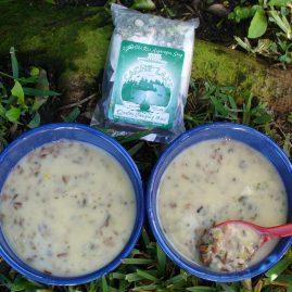 Creamy Wild Rice Asparagus Soup