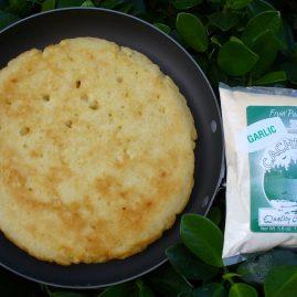 Garlic Fryin' Pan Bread