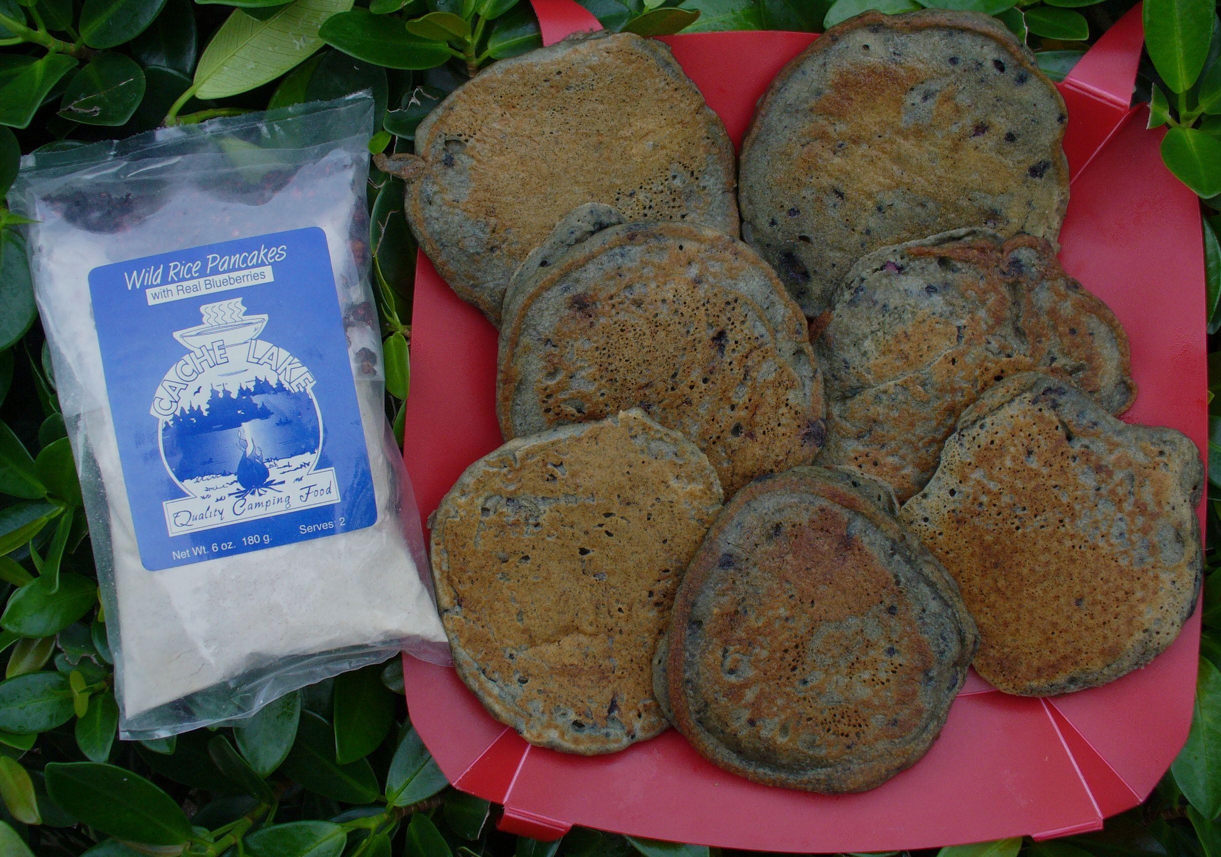 Wild Rice Blueberry Pancakes   Cachelake